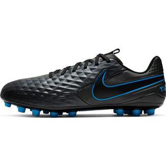 Nike TIEMPO LEGEND 8 ACADEMY AG Fußballschuhe black-black-blue hero-blue hero