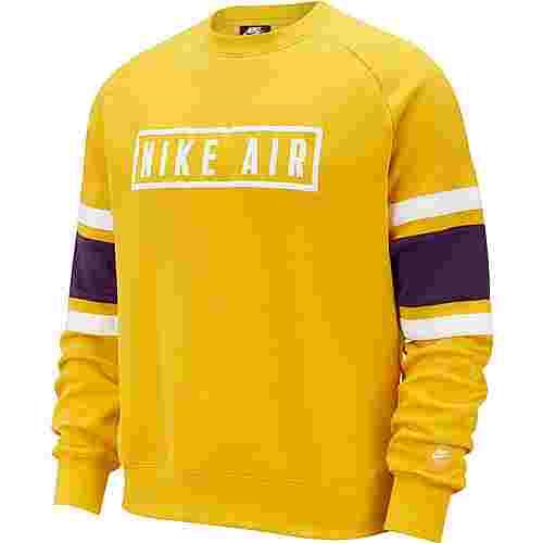 Nike NSW Air Sweatshirt Herren dark sulfur-white-black