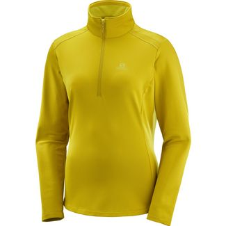 Salomon Discovery Lt Funktionsshirt Damen golden palm