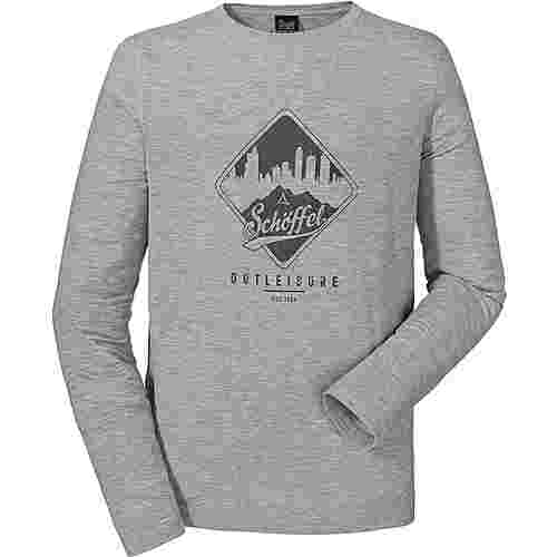 Schöffel Lappland3 Langarmshirt Herren silver filigree