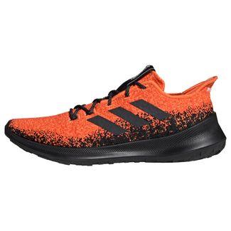 adidas Sensebounce+ Schuh Laufschuhe Herren Hi-Res Coral / Core Black / Active Orange