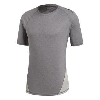 adidas Alphaskin Sport Heather T-Shirt T-Shirt Herren Dark Grey Heather / Grey Four