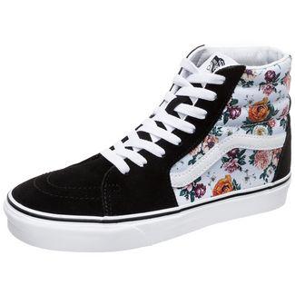 Vans Sk8-Hi Sneaker Damen schwarz / weiß