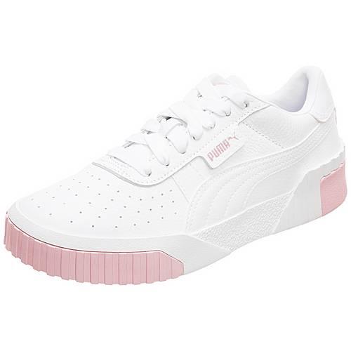 PUMA Cali Sneaker Damen weiß / rosa im Online Shop von SportScheck kaufen