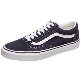 Vans Old Skool Sneaker dunkelblau / weiß