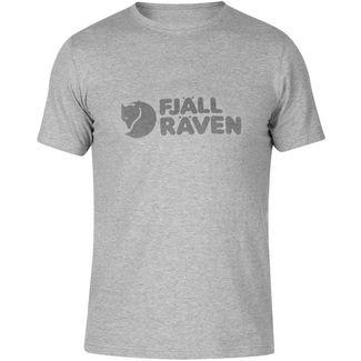 FJÄLLRÄVEN Logo T-Shirt M Printshirt Herren grey