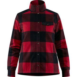FJÄLLRÄVEN Canada Wool Padded Jacke Damen red