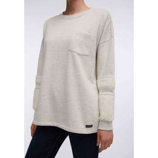 DreiMaster Sweatshirt Damen wollweiss