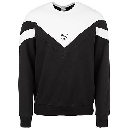 detailed look 934c3 851c9 PUMA Iconic MCS Crew Sweatshirt Herren schwarz / weiß im Online Shop von  SportScheck kaufen