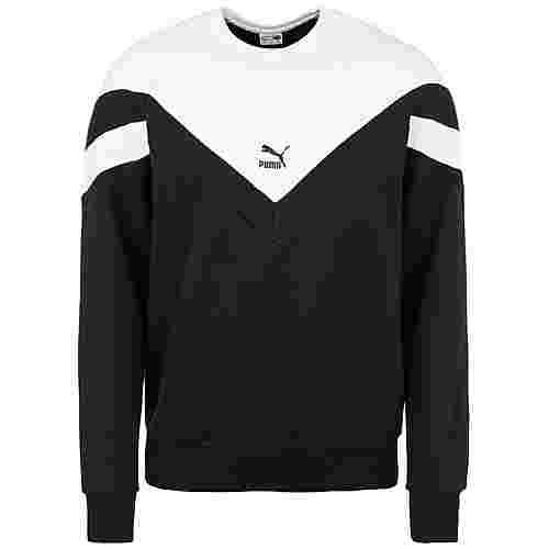 PUMA Iconic MCS Crew Sweatshirt Herren schwarz / weiß