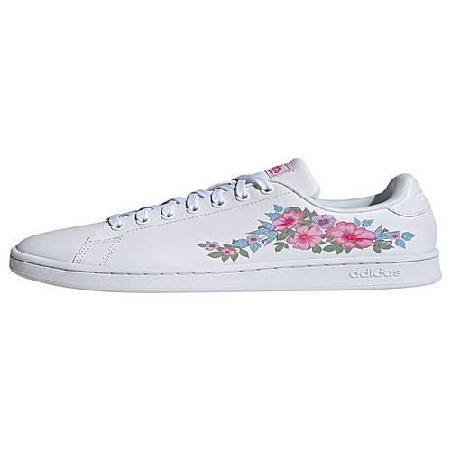adidas FARM Rio Advantage Schuh Sneaker Damen Ftwr White Ftwr White Real Pink im Online Shop von SportScheck kaufen