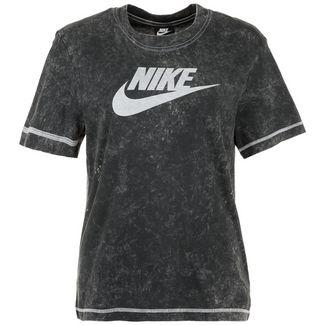 Nike Rebel T-Shirt Damen schwarz