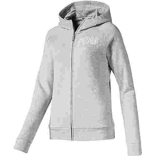 PUMA Sweatjacke Damen light gray heather