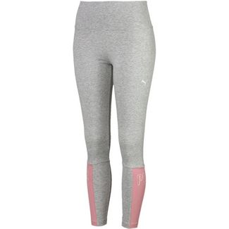 PUMA Leggings Damen light gray heather