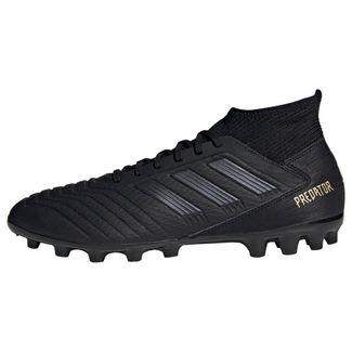 adidas Predator 19.3 AG Fußballschuh Fußballschuhe Herren Core Black / Core Black / Gold Met.