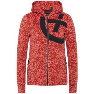 Chiemsee Fleece Jacke Fleecejacke Damen Red/Dark Red AO