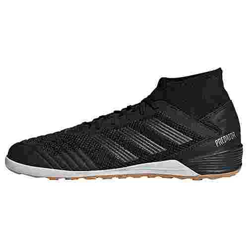 adidas Predator Tango 19.3 IN Fußballschuh Fußballschuhe Herren Core Black / Core Black / Gold Met.