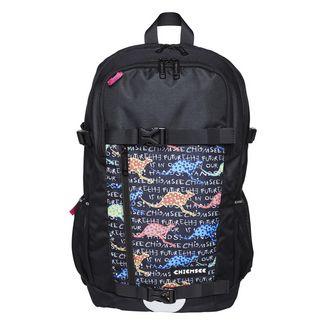 Chiemsee Rucksack Daypack Kinder Black/Colorful