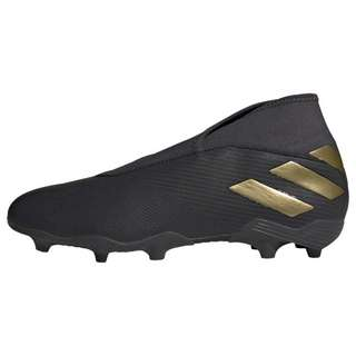 adidas Nemeziz 19.3 FG Fußballschuh Fußballschuhe Herren Core Black / Gold Met. / Utility Black