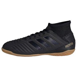 adidas Predator Tango 19.3 IN Fußballschuh Fußballschuhe Kinder Core Black / Core Black / Gold Met.