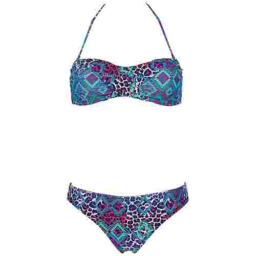 Chiemsee Bikini Bikini Set Damen aztek blue gre