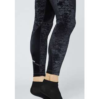 Chiemsee Samt Leggings Leggings Damen Deep Black