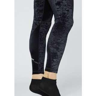 Chiemsee Samt Leggings Leggings Damen Deep Black