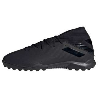 adidas Nemeziz 19.3 TF Fußballschuh Fußballschuhe Herren Core Black / Core Black / Utility Black