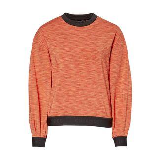 Chiemsee Fleece Pullover Sweatshirt Damen Hot Coral Mel
