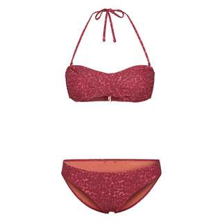 Chiemsee Bandeau Bikini Bikini Set Damen Red/Dark Red AO