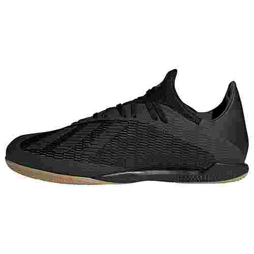 adidas X 19.3 IN Fußballschuh Fußballschuhe Herren Core Black / Utility Black / Silver Met.