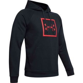 Under Armour Rival Hoodie Herren black/red