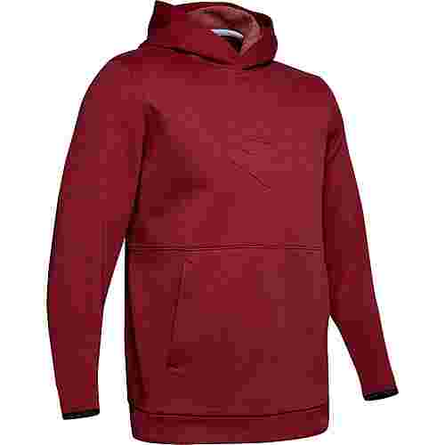 Under Armour Athlete Reoivery Graphic Hoodie Herren red