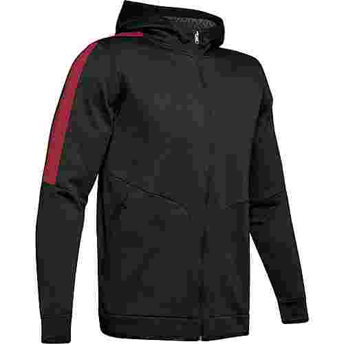 Under Armour Athlete Recovery Funktionsjacke Herren black