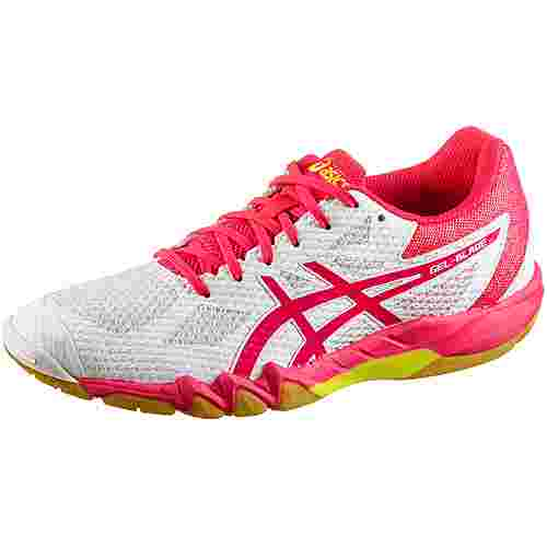 ASICS GEL-BLADE 7 Multifunktionsschuhe Damen white-laser pink im Online  Shop von SportScheck kaufen