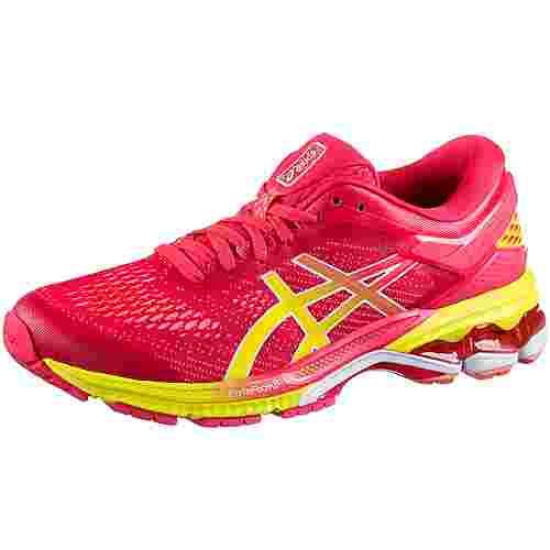 ASICS GEL-KAYANO 26 SHINE Laufschuhe Damen laser pink-sour yuzu im Online  Shop von SportScheck kaufen