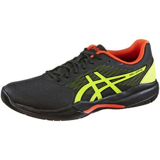 ASICS GEL-GAME 7 Tennisschuhe Herren black-sour yuzu