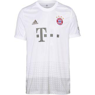 adidas FC Bayern München 19/20 Auswärts Fußballtrikot Herren white
