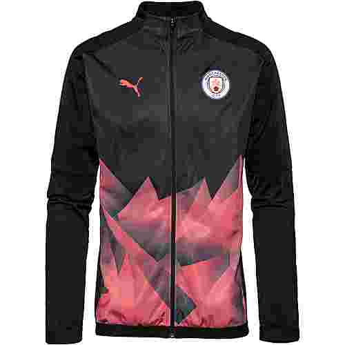 PUMA Manchester City Trainingsjacke Herren puma black-georgia peach