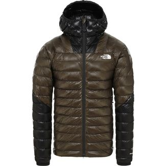 The North Face Summit L3 Daunenjacke Herren new taupe green-tnf black