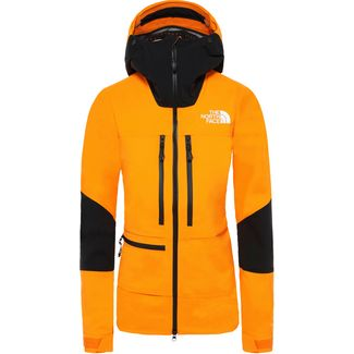 The North Face Summit L5 Hardshelljacke Damen knockout orange-tnf black