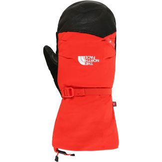The North Face Summit Belay Fäustlinge Herren fiery red