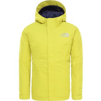 The North Face Snowquest Skijacke Kinder citronelle-green