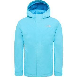 The North Face Snowquest Skijacke Kinder turquoise-blue