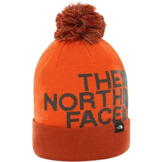 The North Face Tuke Bommelmütze picante red-papaya orange