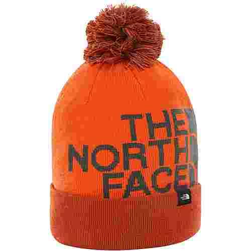 The North Face Tuke Bommelmütze picante red-papaya orange