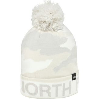 The North Face Tuke Bommelmütze tnf white camo print