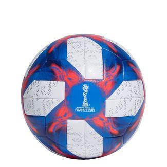 adidas Tricolore 19 Offizieller Spielball Fußball Herren White / Football Blue / Solar Red / Silver Met.