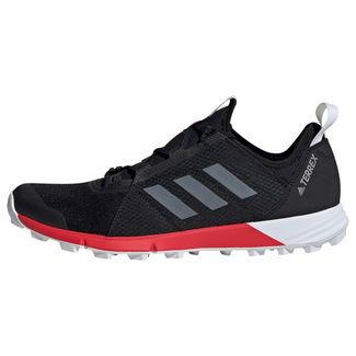 adidas TERREX Speed Schuh Wanderschuhe Herren Core Black / Cloud White / Active Red