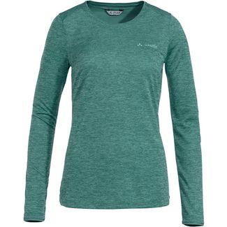 VAUDE Essential Langarmshirt Damen nickel green